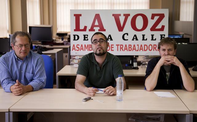 2010.5. La Voz de la Calle. Con Raúl García Hémonnet y David Rojo.