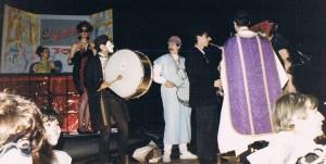 Carroza del Elígeme en la Cabalgata de Carnavales 2