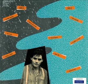 La lluvia vertical. Javier Batanero. Contraportada